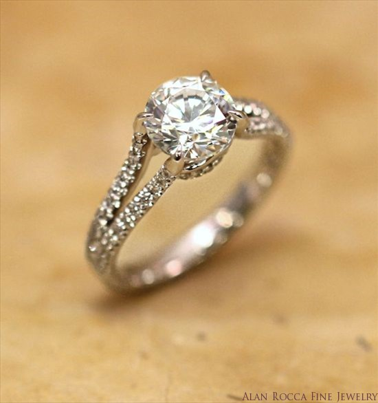 Brilliant Round Diamond Double Band Ring