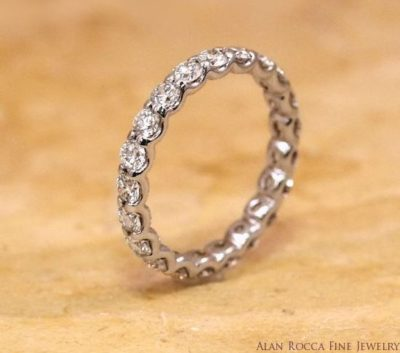 Brilliant Cut Diamond Eternity Band